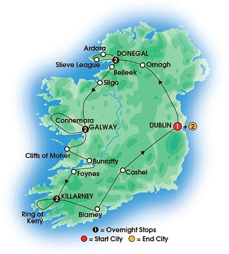 Tours Compare Ireland popup