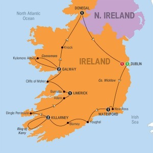 Tours Compare Ireland popup