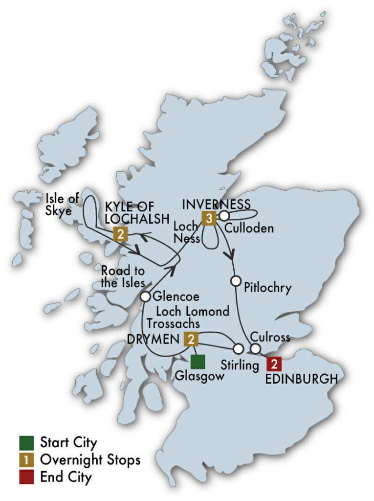 Tours Compare Scotland popup